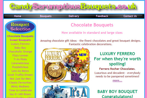 Candy Scrumptious Bouquets